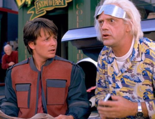 Great Scott! A Back to the Future Day Launch!