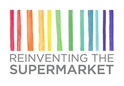Reinventing the Supermarket Logo